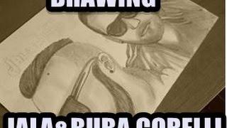 Drawing Jala&BubaCorelli/Trinidad i Tobago