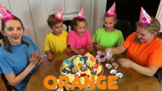 Learn English Colors with Sign Post Kids!  Orange 2