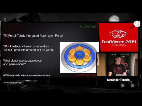 CONFidence 2014: SCADA deep inside: protocols and security mechanisms - Alexander Timorin