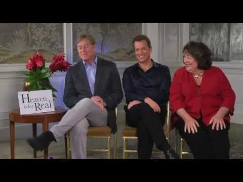 HEAVEN IS FOR REAL Interview - Greg Kinnear, Margo Martindale and Randall Wallace