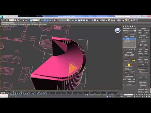 3ds max  Autocad Dwg Files import and Creating Wall (villa modelling part 1)