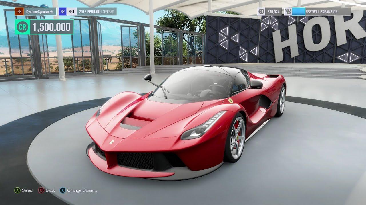 Forza Horizon 3 Ferrari Laferrari Youtube