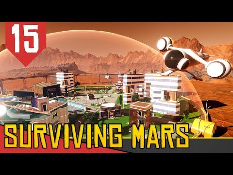 Produção Marciana de Drones - Surviving Mars #15 [Série Gameplay Português PT-BR]