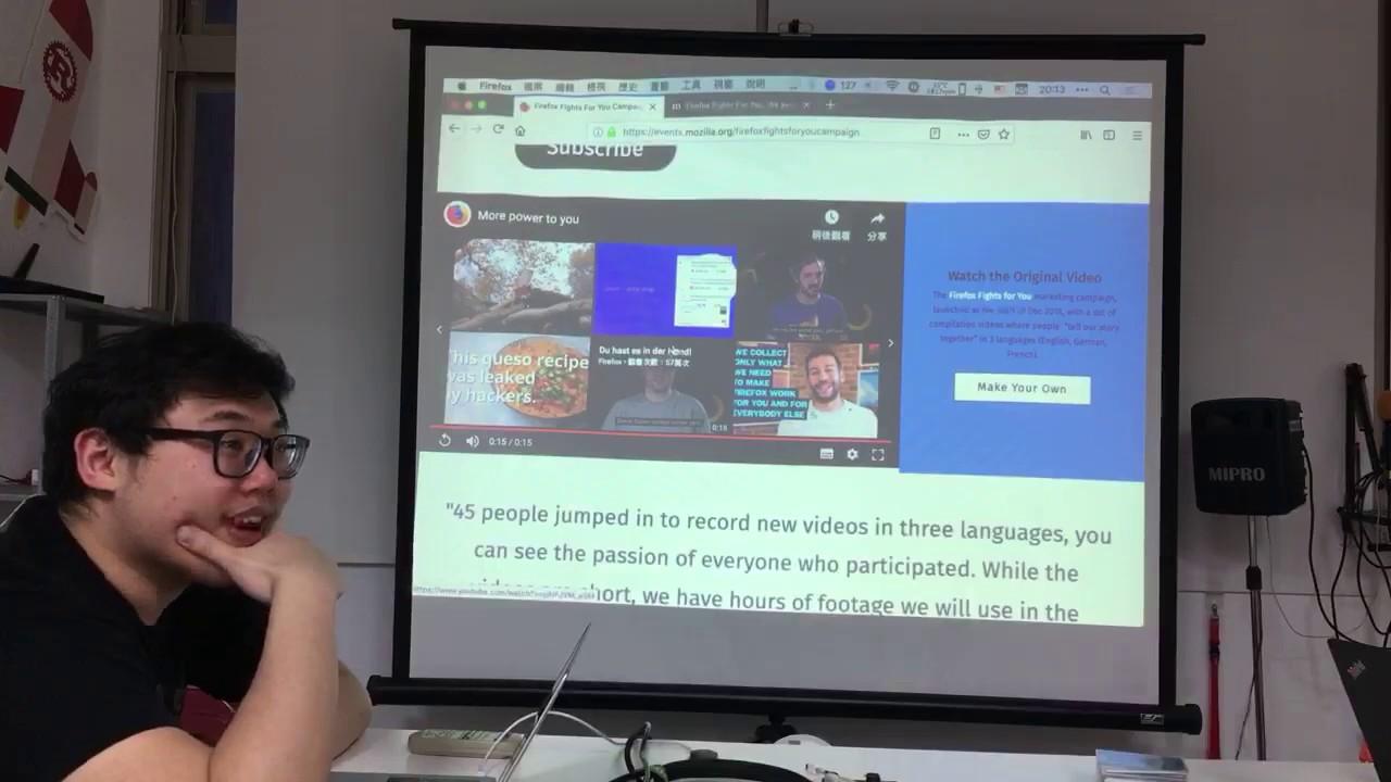 MozTW Lab Lightning Talks - Greenhost (Mat) - 2019/1/25