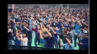 The Worlds Largest Bollywood Dance lesson won the Guinness Record