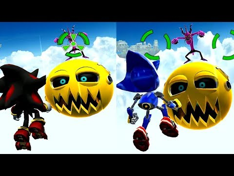 Sonic Dash SHADOW VS METAL SONIC Android iPad iOS Gameplay