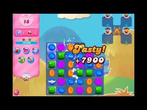 Candy Crush Saga - Level 3207 ☆☆☆