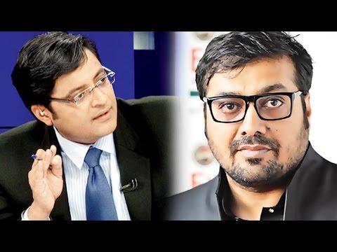 Udta Punjab Censored - Arnab Goswami Interviews Anurag Kashyap : The Newshour Direct (7th June 2016)