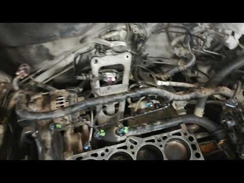 Снятие ГБЦ с двигателя 1.6 Шевроле Круз
