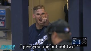 Yasmani Grandal gets ejected for arguing strike three, a breakdown