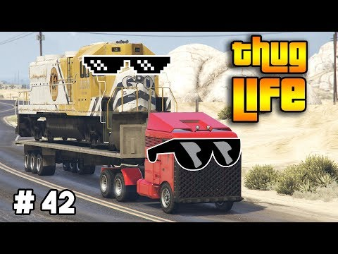 GTA 5 ONLINE : THUG LIFE AND FUNNY MOMENTS (WINS, STUNTS AND FAILS #42)