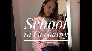 Гимназия в Германии/ school in Germany/ немцы знают русский 🤷🏽♀️?/ мое утро ☕