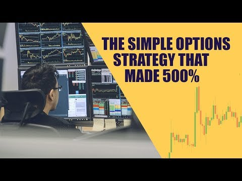 Simple Options Strategy That Made 500% While The Market Lost 4%