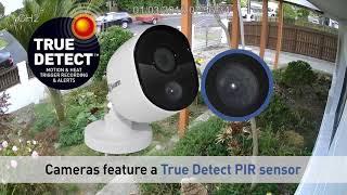 Swann 1080p True Detect PIR Sample Footage Review DVR 4575 DVK 4580, PRO 1080MSB Security Cameras