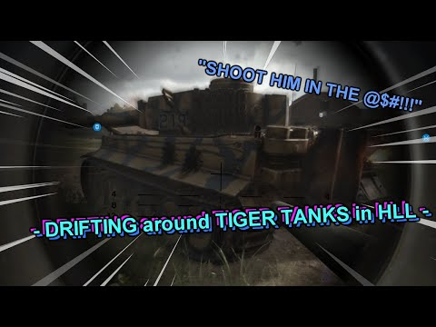 DRIFTING around TIGER TANKS in Hell Let Loose |