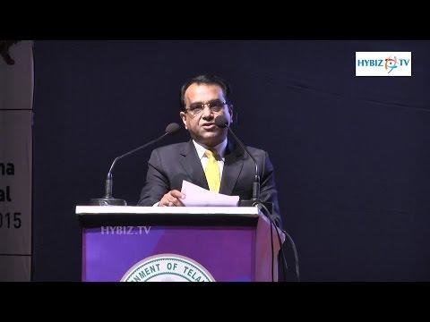 Rajesh Micromax Informatics Telangana Industrial Policy 2015 - Hybiz.tv