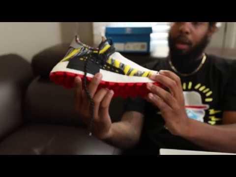 96bfa6106a0 Pharrell Williams SOLARHU NMD Primeknit (Dope or Nope) + On Foot ...