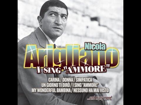 "Nicola Arigliano - I sing ""ammore"""