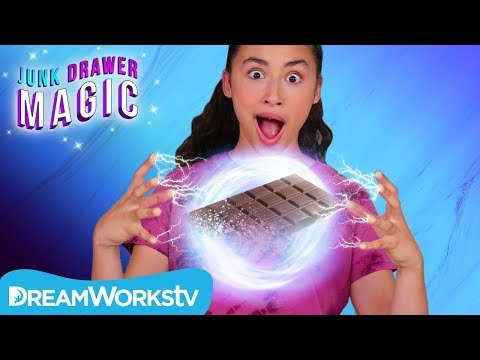Disappearing Candy Bar | JUNK DRAWER MAGIC