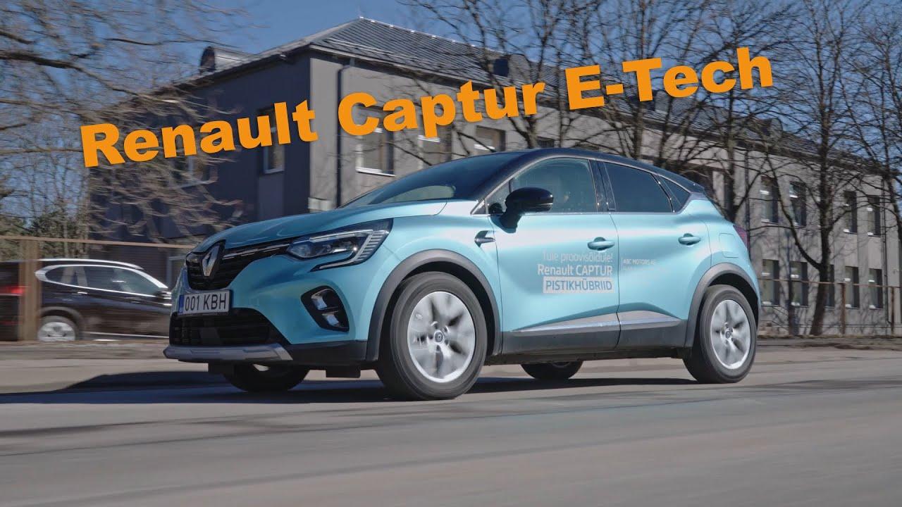 Renault Captur E-Tech - Mis hetkest on pistikhübriid säästlikum kui bensiin?