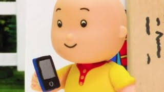 Caillou call Leo | Funny Animated cartoons Kids | WATCH ONLINE | Caillou Stop Motion | Cartoon movie