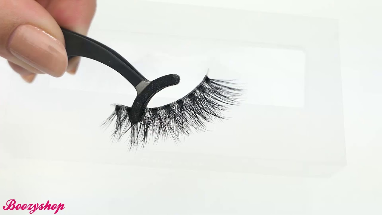 810d150fbb4 Lilly Lashes Delara 3D Faux Mink Invisible Band Lashes - YouTube