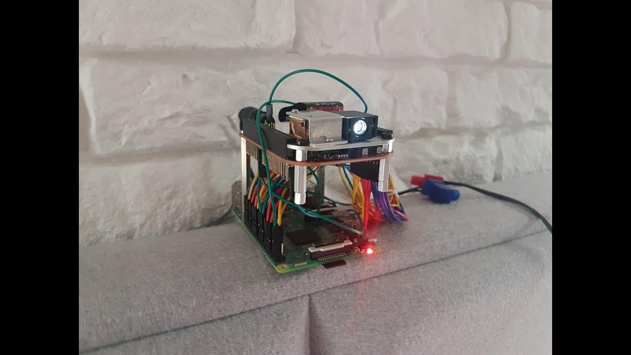 Raspberry Pi - DLP Pico Projector - DIY
