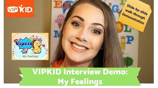 "Video VIPKID ""My Feelings"" Interview walk-through - How to pass! download MP3, 3GP, MP4, WEBM, AVI, FLV November 2018"
