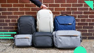 Peak Design Everyday Line V2 Hands-On | Backpack, Zip, Slings, Tote, Totepack & Messenger