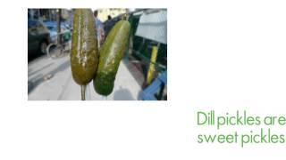 National Pickle Day, November 14
