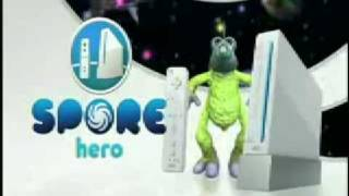 Spore Hero Wii
