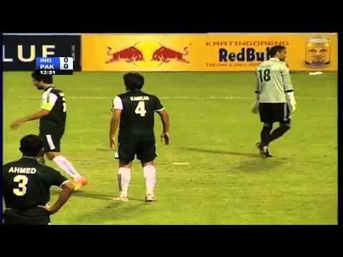 SAFF Championship 2013 India vs Pakistan Highlights