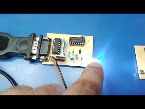 LI-Fi Data Communication