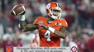 Can Alabama Contain Deshaun Watson?