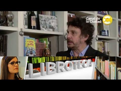 Felipe Pigna nos muestra su biblioteca en Libroteca