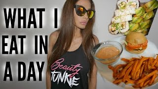 VEGAN WHAT I EAT IN A DAY