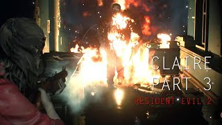 Resident Evil 2 - Claire Redfield Gameplay Part 3 Statue Puzzle Solved
