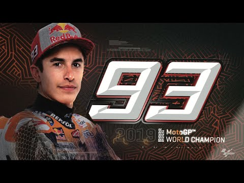 Marc Marquez is the 2019 MotoGP™ World Champion! #8ball