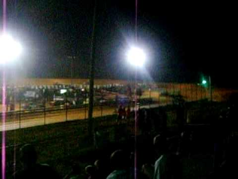 Central Alabama Motor Speedway 7-24-2010 Mechanic Race v8 Cars
