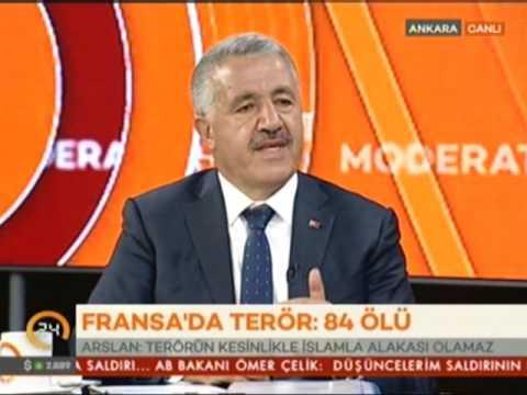 Ahmet Arslan - Kanal 24 Canlı Yayınına Katıldı