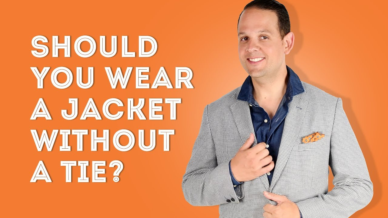 d503ea4b Should You Wear a Jacket Without a Tie? — Gentleman's Gazette