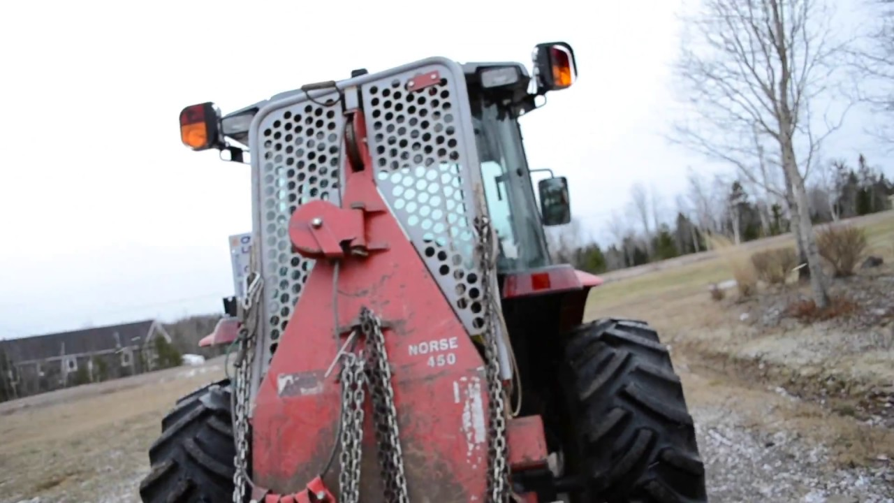 Three Point Winch : Attaching norse winch to farm tractor point hitch youtube