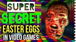 Super Secret Easter Eggs in Video Games! Feat. Oddheader