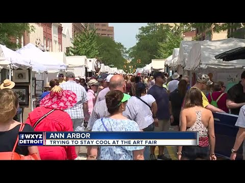 Expect huge crowds at Ann Arbor this weekend for 58th Annual Art Fair