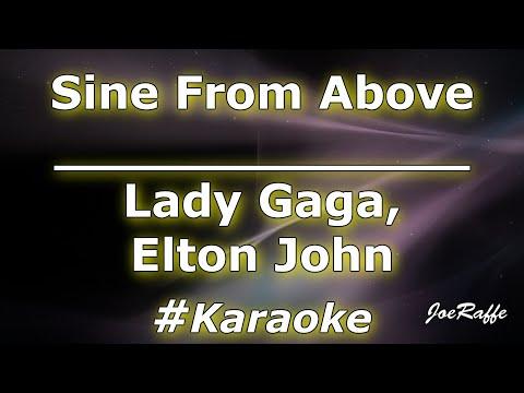Lady Gaga Elton John - Sine From Above Karaoke