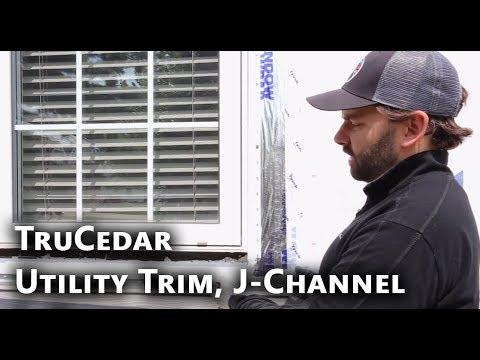 Trucedar Steel Siding Installation Utility Trim J