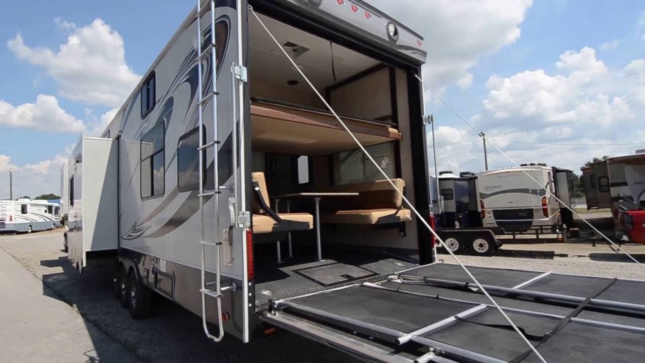 2012 Heartland Cyclone 3800 Fifth Wheel Toy Hauler From