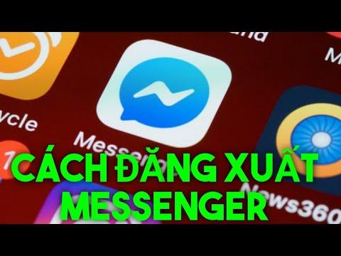 Hướng dẫn cách đăng xuất messenger trên điện thoại!