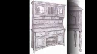 Dining Room Hutch, Buffet, And Server | Downtown Fine Furniture Store | Verona Virginia