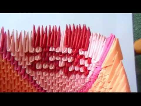 3d Origami Swan Love Boat